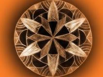 цветастое мандала Стоковая Фотография RF