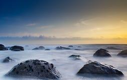 Цветастое место пляжа Стоковые Фото