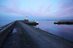 цветастое небо маяка Стоковое фото RF
