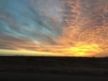 цветастое небо стоковая фотография