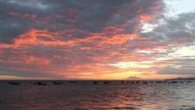 цветастое небо Стоковые Изображения