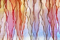 цветастое окно Стоковая Фотография RF