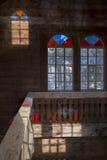 цветастое окно Стоковое фото RF
