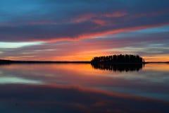 цветастое отражение Стоковая Фотография
