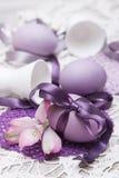 цветастое пасхальное яйцо Стоковое Изображение RF
