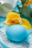 цветастое пасхальное яйцо Стоковая Фотография
