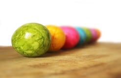 цветастое пасхальное яйцо Стоковое Изображение