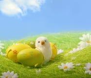 цветастое покрашенное пасхальное яйцо Стоковые Фото