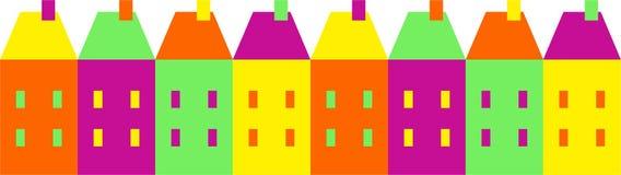 цветастое село Стоковое Изображение RF