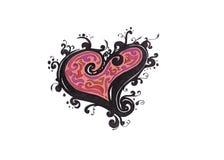 цветастое сердце стоковые фото