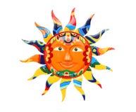 цветастое солнце живое Стоковая Фотография RF