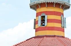Цветастое старое классицистическое здание Стоковое Изображение