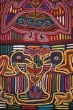 цветастое тканье конструкции Стоковая Фотография RF