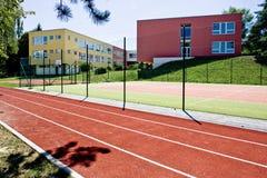 Цветастое школьное здание Стоковые Фото