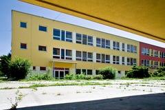 Цветастое школьное здание Стоковое Изображение RF