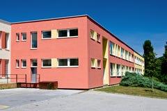 Цветастое школьное здание Стоковое фото RF