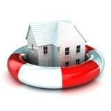 Дом в Lifebuoy Стоковые Фото