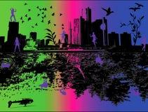 цветастое life2 Стоковое Изображение