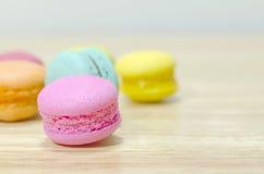цветастое macaron Стоковая Фотография