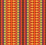 Цветастое striped pattern_3 Стоковое Изображение