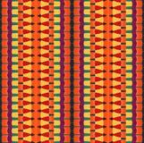 Цветастое striped pattern_3 иллюстрация вектора