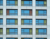 Цветастое Windows Стоковое Фото