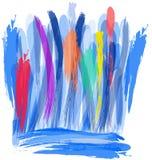 Цветастой конструкция нарисованная рукой Стоковые Фотографии RF