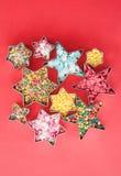 цветасто брызгает сахар стоковые изображения rf
