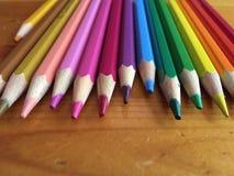 цветасто много карандашей Стоковое Фото