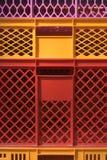 цветасто содержит пластмассу Стоковая Фотография