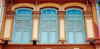 цветастые двери Стоковые Фотографии RF