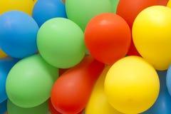 Цветастые воздушные шары стоковое фото rf