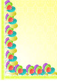 Граница партии иллюстрация вектора