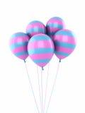 Цветастые воздушные шары Стоковое Фото
