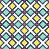 Цветастые геометрические формы Стоковая Фотография