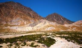 Цветастые горы Стоковая Фотография