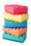 цветастые губки Стоковое фото RF