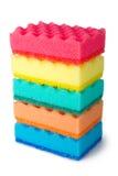 цветастые губки Стоковое Фото
