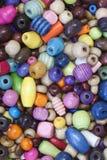 Цветастые деревянные шарики Стоковые Изображения RF