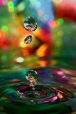 цветастые джины Стоковая Фотография