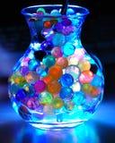 цветастые загоранные перлы опарника Стоковые Изображения