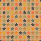 Цветастые звезды Стоковые Фото