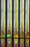 цветастые золотистые трубы Стоковая Фотография