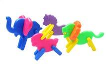 цветастые игрушки Стоковое Фото