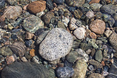 цветастые камни Стоковое Фото