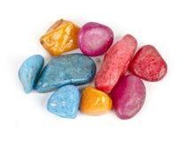 цветастые камушки Стоковые Фотографии RF