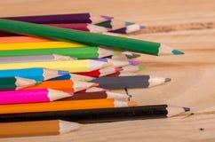 цветастые карандаши стоковое фото rf