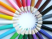 цветастые карандаши Стоковые Изображения RF