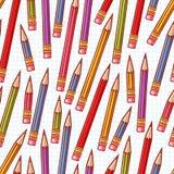 цветастые карандаши иллюстрация вектора