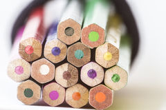 цветастые карандаши Стоковое Изображение